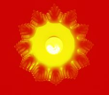 Free Lamp Yellow Stock Photo - 4629280