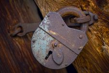 Free Old Lock Stock Photography - 4629302