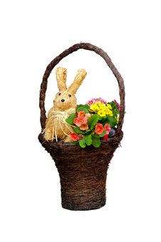 Free Easter Basket Stock Photography - 4629582