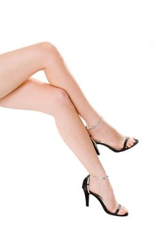 Free Beautiful Long Legs Royalty Free Stock Photography - 4629607