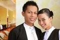 Free Two Restaurant Staff Stock Image - 4633061
