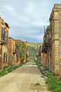 Free Poggioreale Ruins, The Street Royalty Free Stock Photography - 4633507