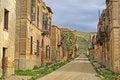 Free Poggioreale Ruins, The Street Stock Photography - 4633532