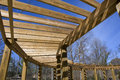 Free Wood Covered Walkway Royalty Free Stock Photography - 4639727