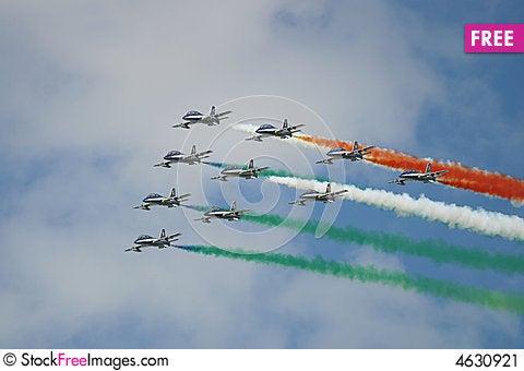 Free Italian Squadron Stock Image - 4630921