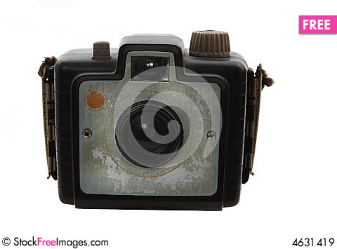 Free Old Vintage Photo Camera Royalty Free Stock Images - 4631419