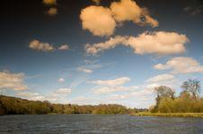 Free Landscape Of The Lake Royalty Free Stock Photo - 4630635