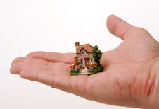 Free A Country House On The Hand Stock Images - 4630654