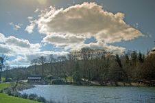 Free Lake Clouds And Landscape Royalty Free Stock Image - 4630796
