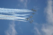 Free A Squadron In The Sky Stock Photography - 4630922