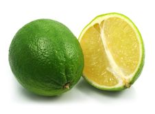 Green Lime Exotic Fruit Stock Image