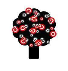 Free Abstract Happy Tree Royalty Free Stock Image - 4631216