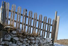 Free Picket Fence Royalty Free Stock Photo - 4631675