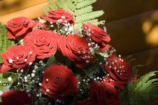 Free Bunch Of Red Roses Royalty Free Stock Images - 4631889