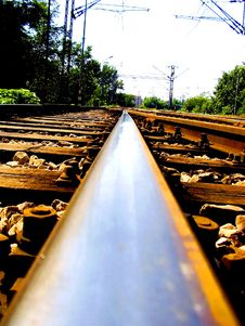 Free Railway-track Royalty Free Stock Photos - 4631948