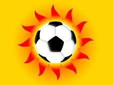 Free Football Sun Royalty Free Stock Photos - 4632058