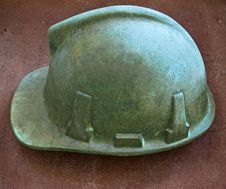 Free Bronze Helmet Royalty Free Stock Image - 4632156