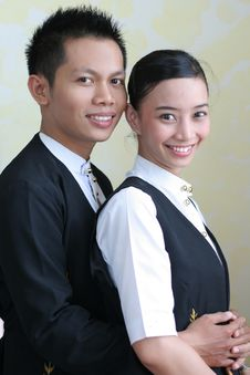 Free Hotel Or Restaurant Staff Stock Photo - 4633060