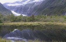 Peters Pool With Franz Josef G Stock Photography