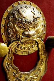 Free Archaic Chinese Lock Royalty Free Stock Images - 4633379