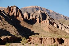 Free Rough Mountainscape, Argentina Royalty Free Stock Photos - 4633578