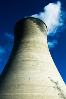 Free Cooling Towers Royalty Free Stock Images - 4633709