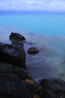 Mauritius Coastline Royalty Free Stock Image