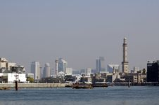 Free View On Modern Dubai From Old Town Stock Photos - 4634203