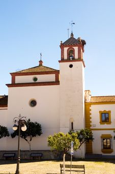 Free Spanish Church Bell Tower, FERIA AGOSTO, Spain Stock Photos - 4634603
