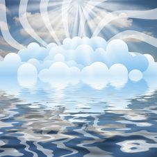 Free Clouds On Sky Stock Images - 4634804