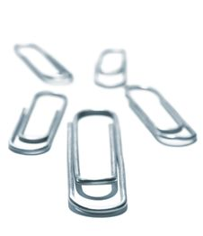 Free Paper-clips Leader Royalty Free Stock Images - 4635739