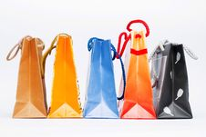 Free Colorful Paper Bags Stock Photo - 4637090