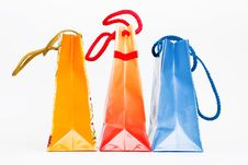 Free Colorful Paper Bags Royalty Free Stock Images - 4637109