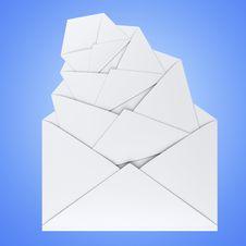 Free Letters, Envelopes Stock Photos - 4637433