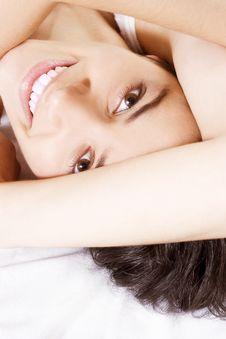 Free Smiling Woman Stock Image - 4637591