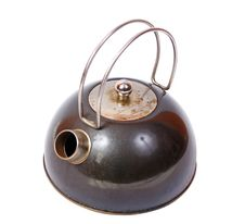 Free Old And Dirty Kettle Royalty Free Stock Photography - 4637747