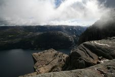 Free View On The Lysefjord, Norway Stock Photo - 4637820