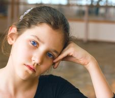 Free Portrait Of A Young Teen Gymnastic Girl Royalty Free Stock Photography - 4637847