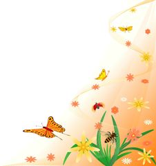 Free Floral  Artistic  Design Stock Photos - 4637953