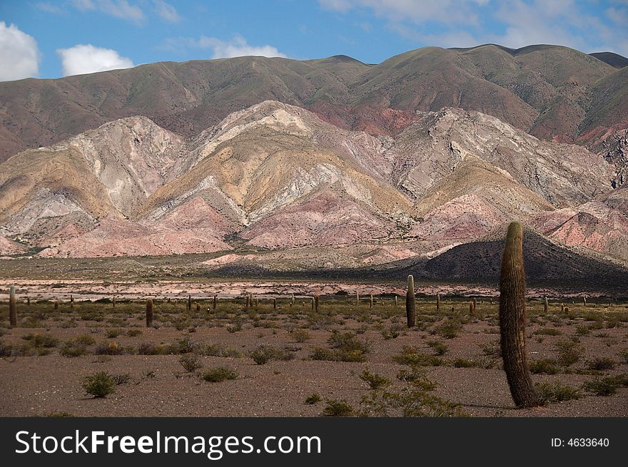 Painter´s mountain, Argentina