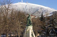 Free Monument Lermontov. Royalty Free Stock Photos - 46318598