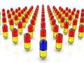 Free 3d Pills Stock Image - 4640721