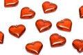 Free Many Hearts On White Royalty Free Stock Photos - 4643358