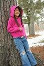 Free Girl Enjoying Winter Stock Photos - 4644393
