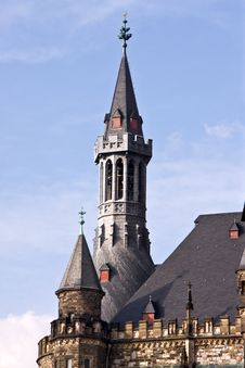 Free Town Hall, Aachen Royalty Free Stock Photography - 4640227