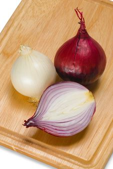 Free Red And White Onion Stock Image - 4640361