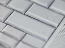 Free Keyboard - Enter Or Return Key Royalty Free Stock Photography - 4640897