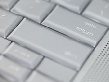 Free Keyboard - Enter Or Return Key Royalty Free Stock Images - 4640899