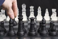 Free Chess Opening Move Stock Photo - 4640900