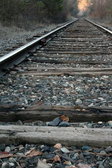 Free Railroad Tracks Stock Photography - 4640922